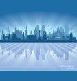 istanbul turkey city skyline silhouette vector image vector image