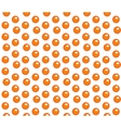 Red caviar seamless pattern Roe endless vector image vector image