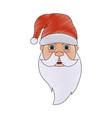 santa claus cartoon icon image vector image vector image