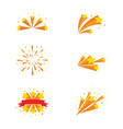 star background template vector image vector image