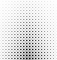 Abstract monochrome circle pattern background vector image vector image