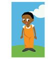 cartoon boy vector image vector image