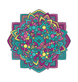 mandala flower 2 vector image vector image