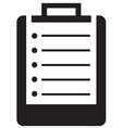 Medical clipboard icon