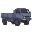 Old all terrain truck vector image