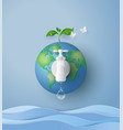 wolrd water day vector image