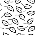 Seamless Leaves Background vector image