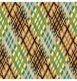 Seamless tartan pattern Diagonal brown palette vector image