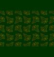 ivy leaf pattern vector image