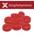 no drugs no amphetamines vector image vector image