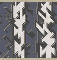 tech geometric seamless pattern vector image vector image