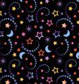 Tiny celestial wallpaper vector image