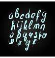 handmade brush script good lettering eps vector image