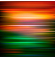 abstract red green motion blur background vector image