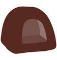 brown cat house vector image