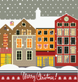 Christmas city vector | Price: 3 Credits (USD $3)