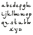 Oriental font vector image