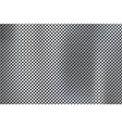 realistic perforated brushed metal texture vector image