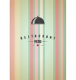 striped background vector image