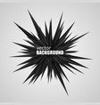 abstract black explosion vector image