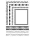 al 0513 ornaments 02 vector image vector image