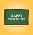 Happy Teachers Day greeting card Teachers Day