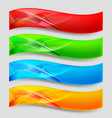 web wave panels form an abstract background vector image vector image