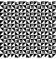 Abstract seamles monochrome pattern vector image vector image