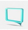blue frame rectangular discount sticker vector image vector image