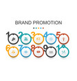 brand promotion infographic design template