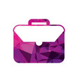 business briefcase document travel professional vector image