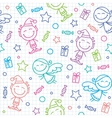 Christmas hand drawn pattern vector | Price: 1 Credit (USD $1)