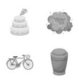cooking transport and other monochrome icon in vector image