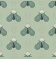 geometric bee geometric pattern vector image vector image