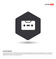 music tape icon vector image