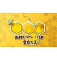 new years vector image