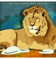 Wild Cats Lion vector image vector image