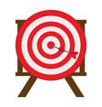 target shooting game vector image