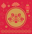 2019 chinese new year holiday spring festival vector image vector image