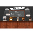 Funny Best Friends Of Barista vector image vector image