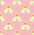 geometric bee geometric pattern vector image