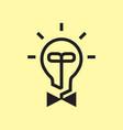 idea man logo vector image