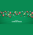 merry christmas banner paper art holiday icons