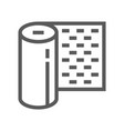 wallpaper home repair and tools line icon vector image