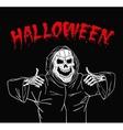 Zombie happy Halloween vector image vector image