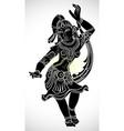 dancing symbol vector image