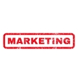 Marketing Rubber Stamp vector image vector image