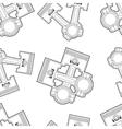 piston seamless vector image vector image