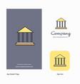 villa company logo app icon and splash page vector image vector image