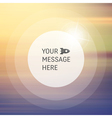 Blurry Soft Background Place for Text vector image